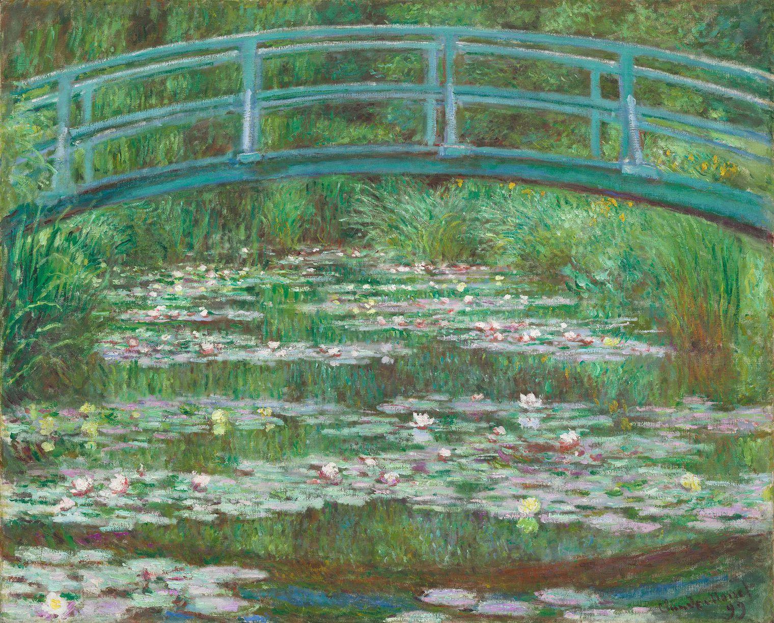 Le Pont Japonais, par Claude Monet, 1899.