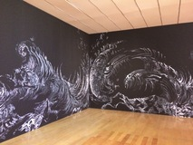 Galerie photo Exhibition 'Wall drawings'
